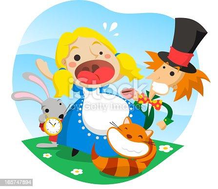 543560840 istock photo Alice in wonderland 165747894