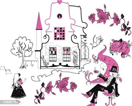 istock Alice in Wonderland ilustración vectorial 153067154 istock ...