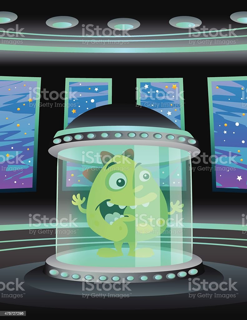 Alien Chamber royalty-free alien chamber stock vector art & more images of 2015
