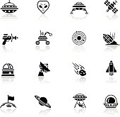 Alien Icon Set