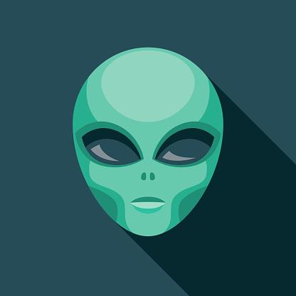 Alien Science Fiction Icon