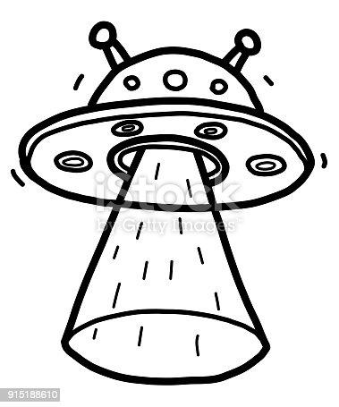 Ilustración de Alien Nave Espacial y más banco de imágenes de Arte ...