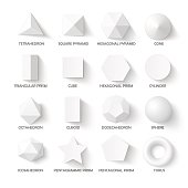 All basic 3d shapes