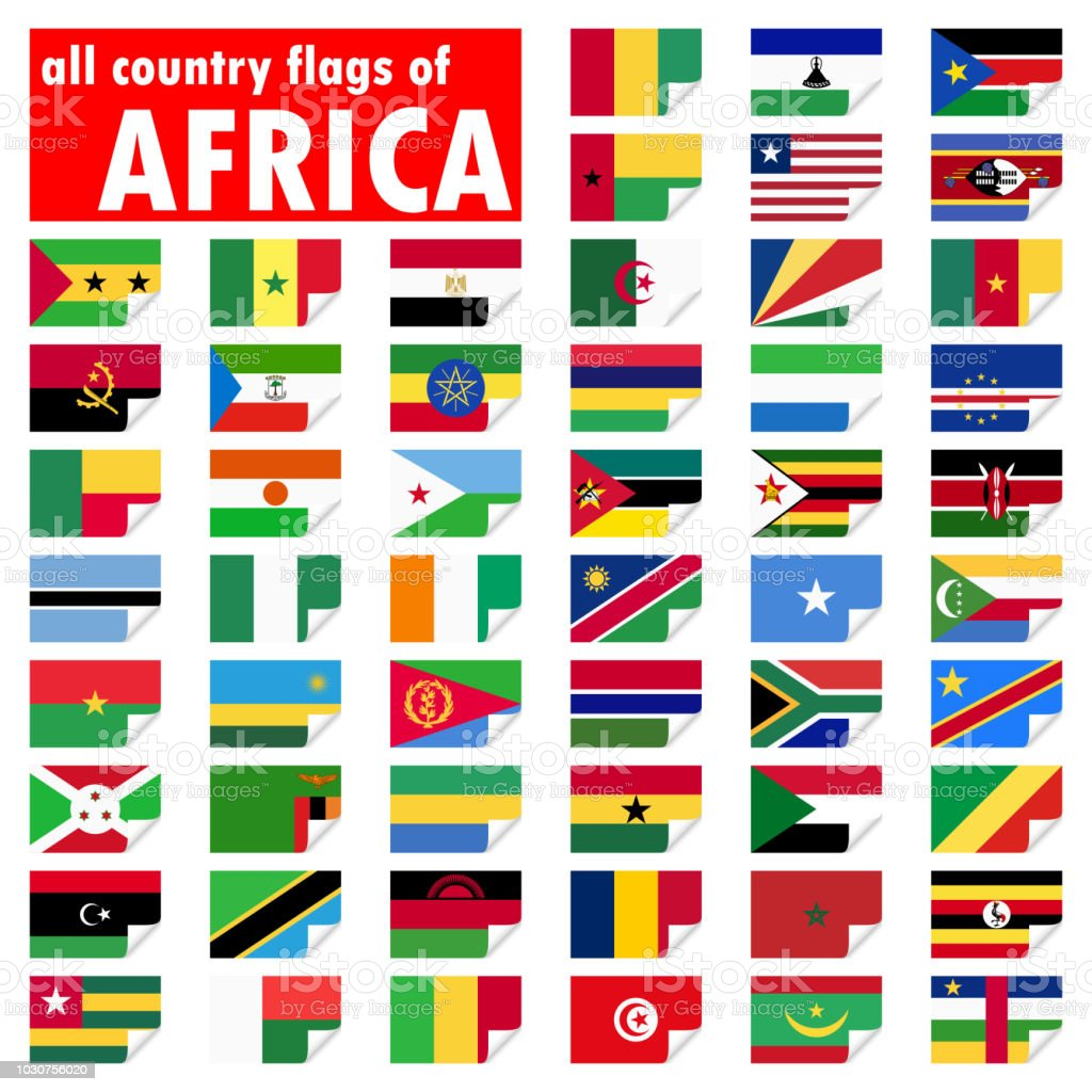 all country flags of africa stock vector art more images of africa