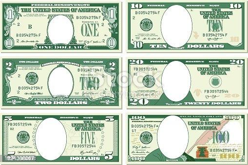 istock All Dollar Bills Template 1324366057