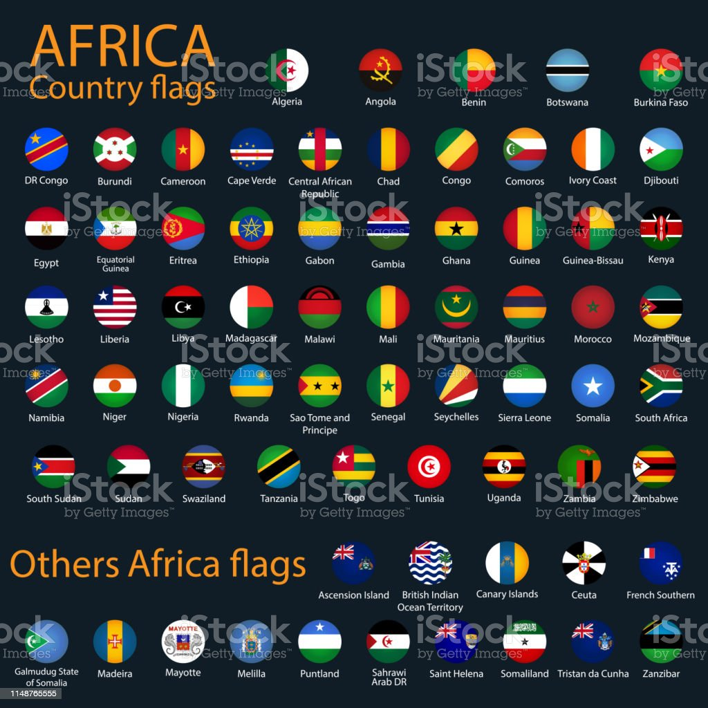 All Flags Of Africa Stock Illustration Download Image Now Istock