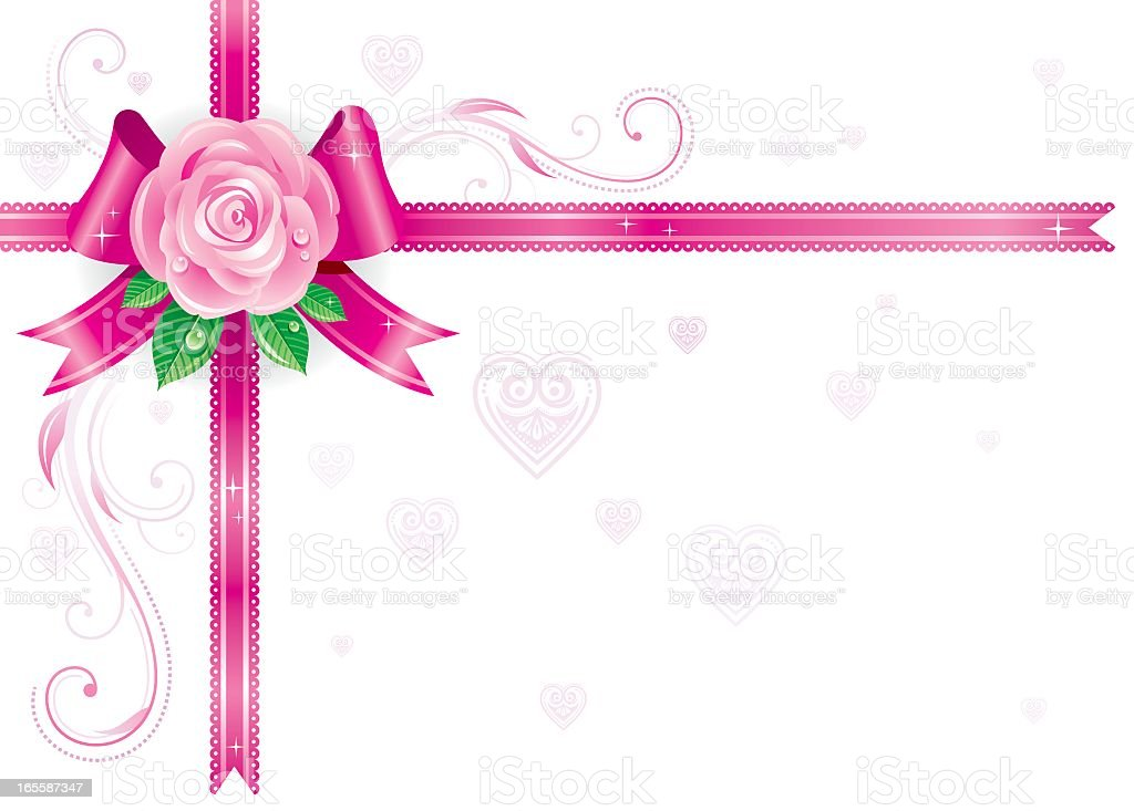 All holidays corners: Valentine's day royalty-free stock vector art
