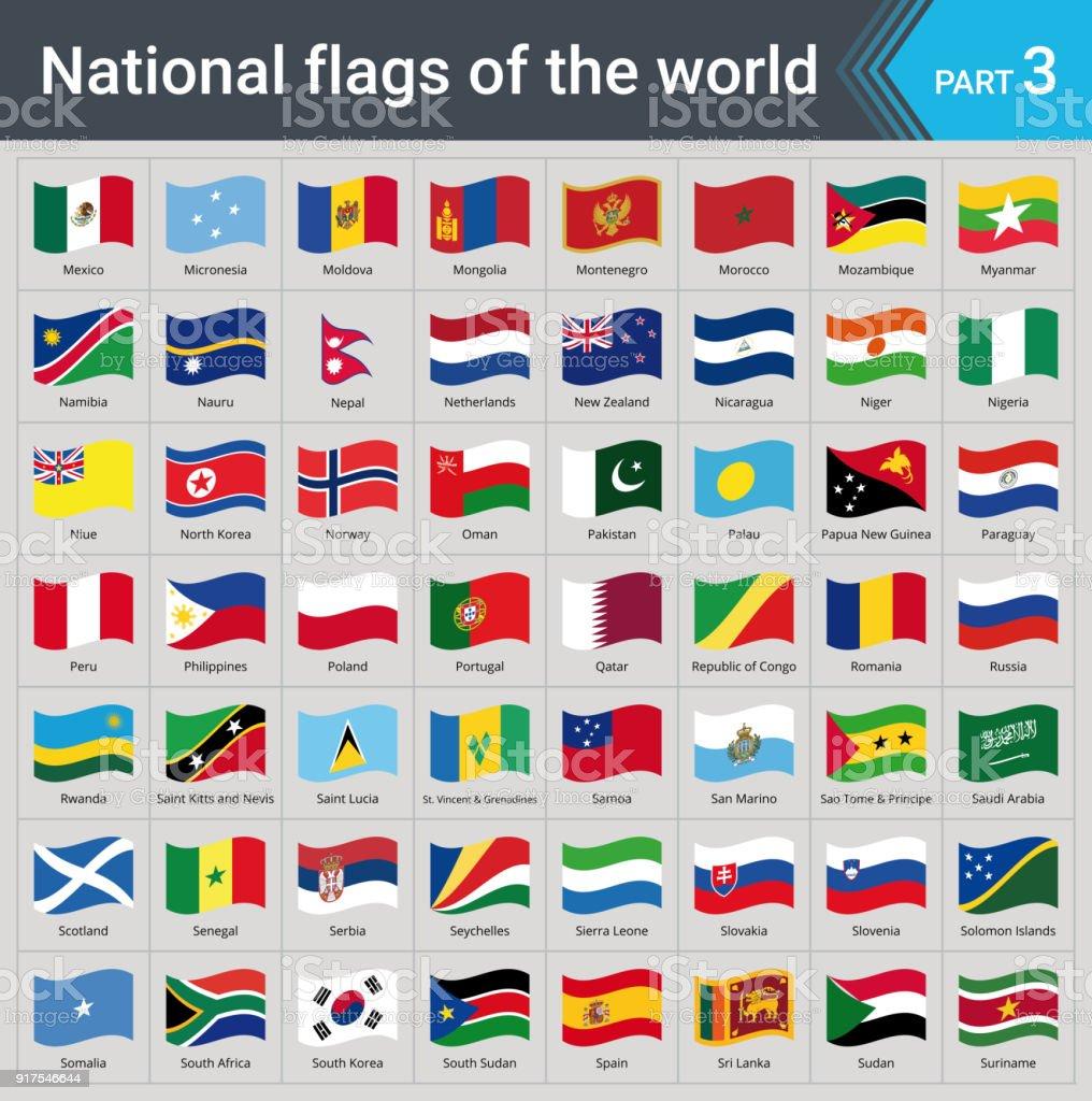 Alle Flaggen Der Em