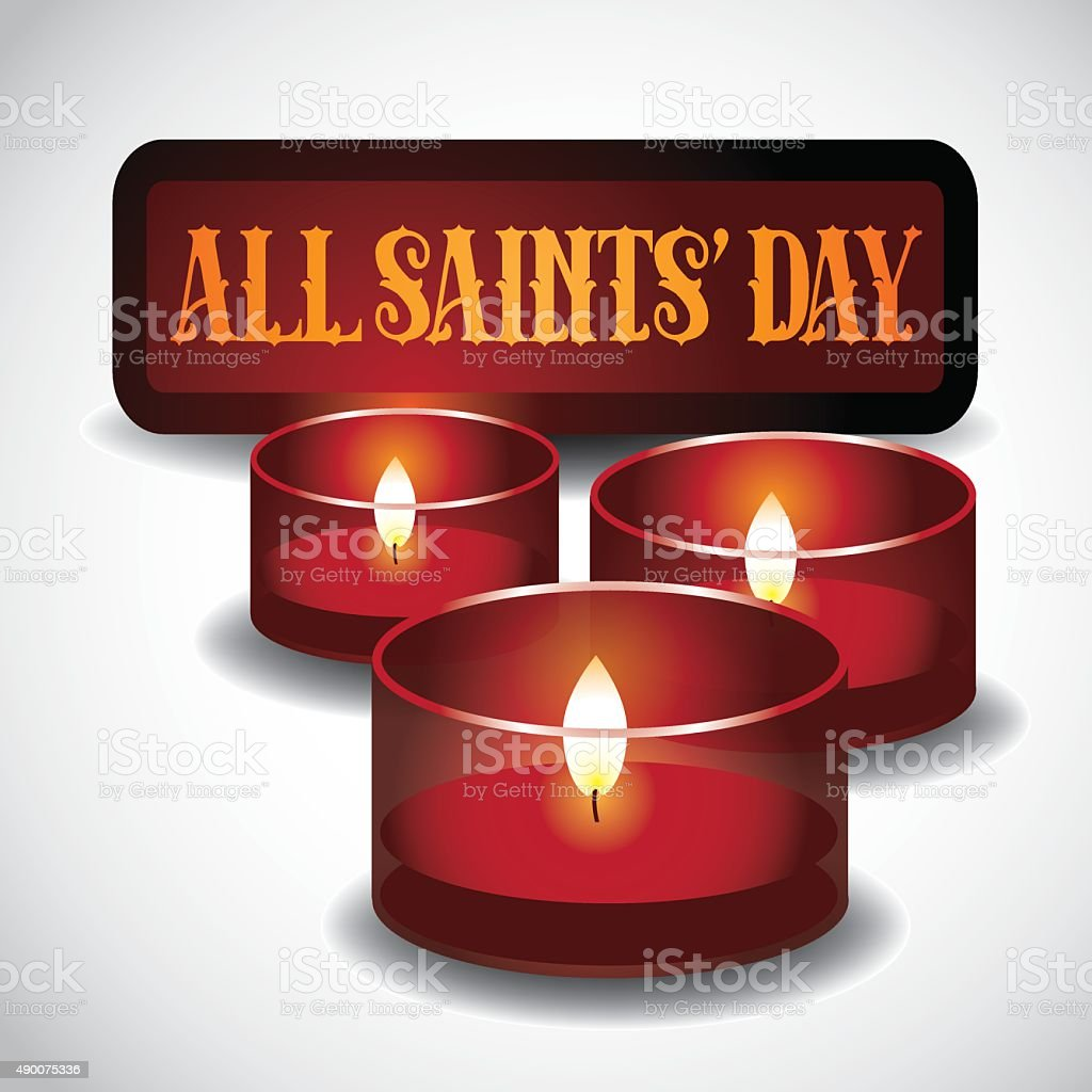 All saints day red votive candles icon stock vector art more all saints day red votive candles icon royalty free all saints day red votive candles m4hsunfo