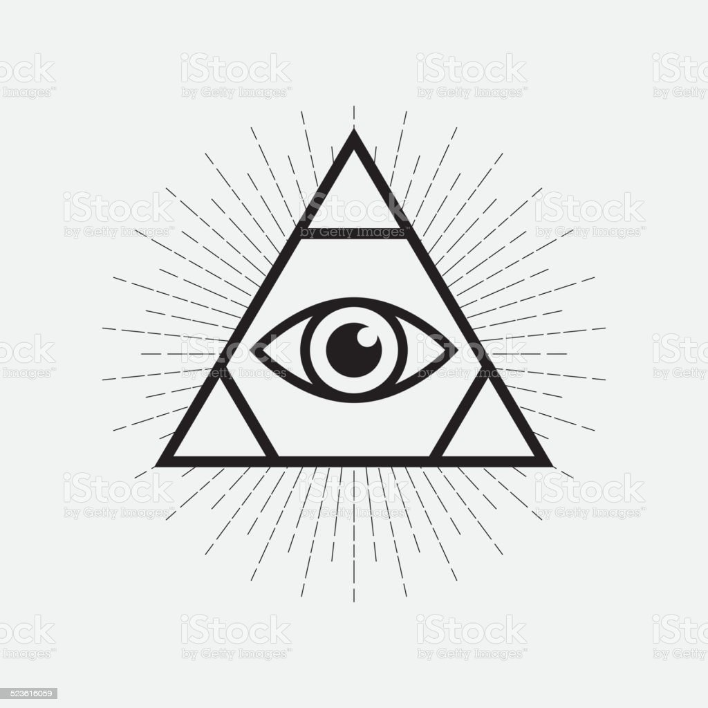 Egyptian Eye Clip Art Triangle Best Graphic Sharing
