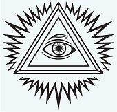 All seeing eye