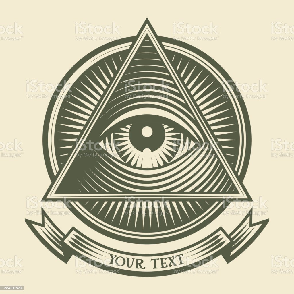 All Seeing Eye Royalty Free Stock Vector Art Amp More Images