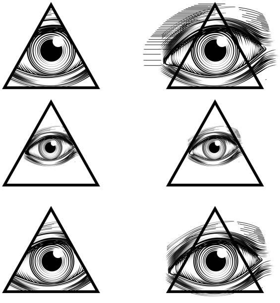 Royalty Free Illuminati Clip Art, Vector Images