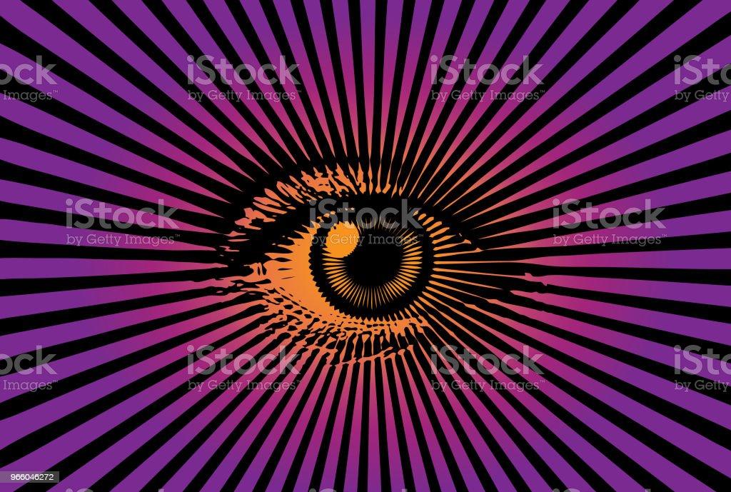 All seeing eye - Lizenzfrei Augapfel Vektorgrafik