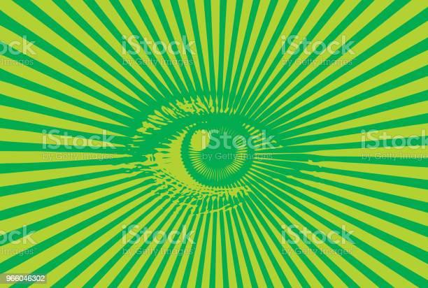 All Seeing Eye - Arte vetorial de stock e mais imagens de Arte Linear