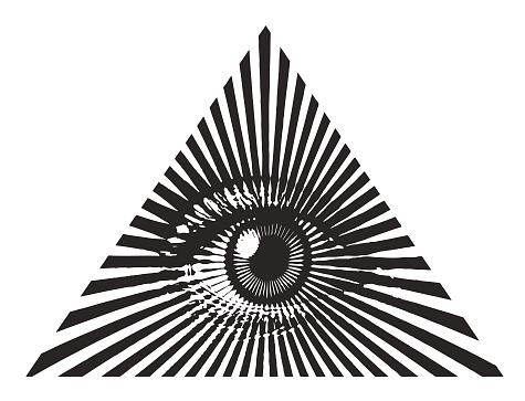 Alla Seende Ögat-vektorgrafik och fler bilder på Andlighet