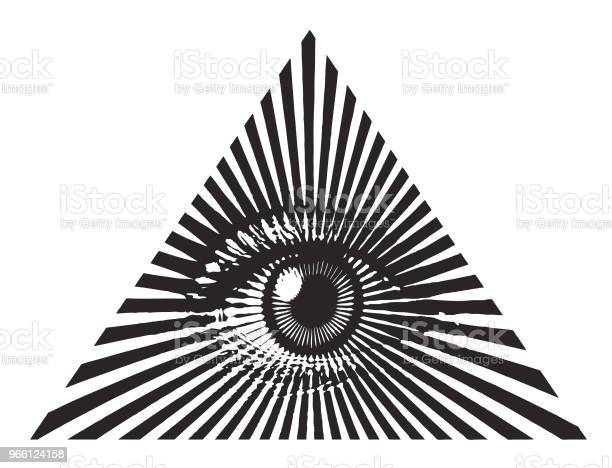 All Seeing Eye Stock Illustration - Download Image Now