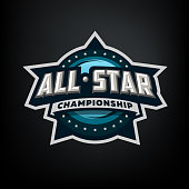 All star sports, template symbol design.
