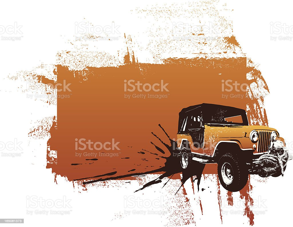 all terrain brown royalty-free stock vector art