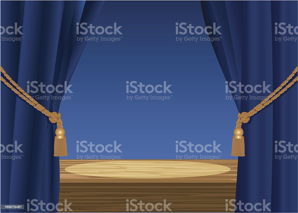 All the World's a Stage royalty-free stock vector art