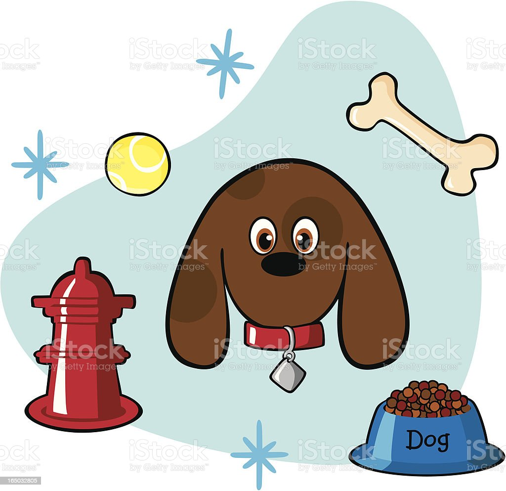 All Things a Dog Loves (vector) royalty-free all things a dog loves stock vector art & more images of animal