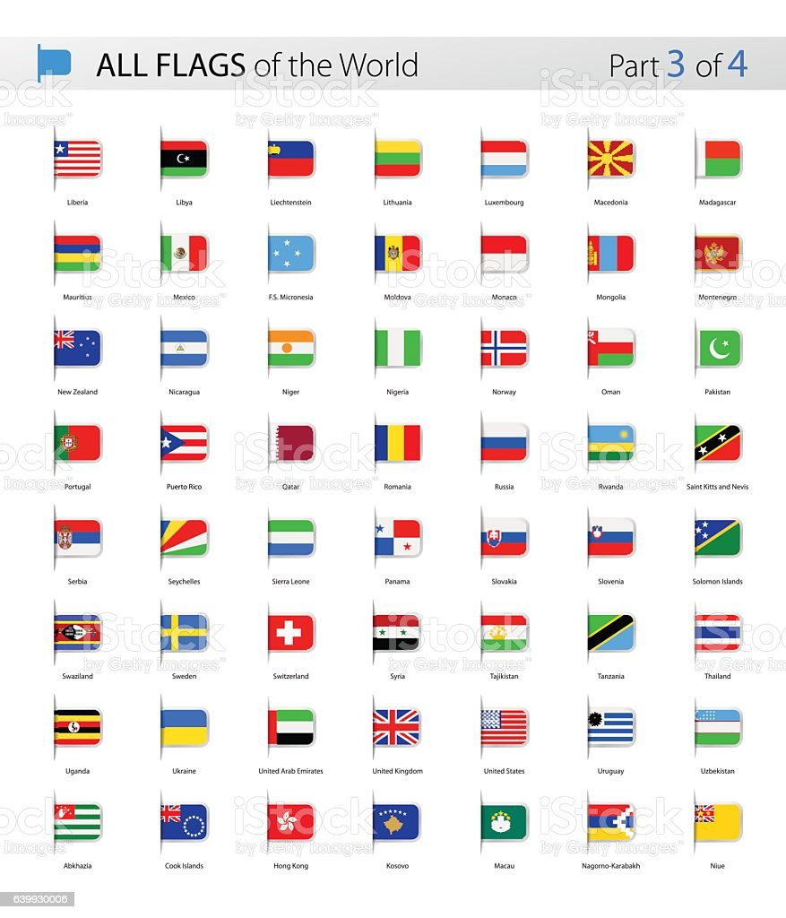 All world bookmark label vector flags collection stock vector art all world bookmark label vector flags collection royalty free all world bookmark label vector gumiabroncs Gallery