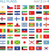 All World Flags - Illustration