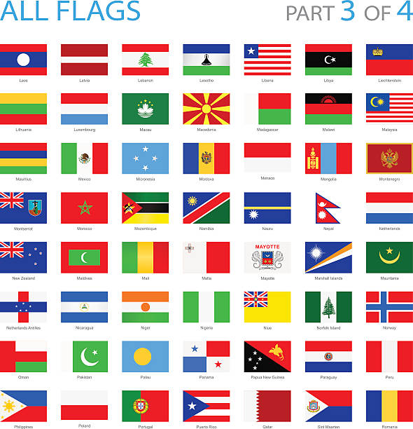Best World Flags Illustrations, Royalty-Free Vector ...