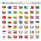 All World Tag Vector Flags - Collection