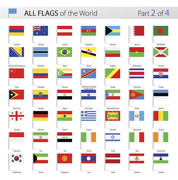 all world vector flag pins - collection - アイルランドの国旗点のイラスト素材/クリップアート素材/マンガ素材/アイコン素材
