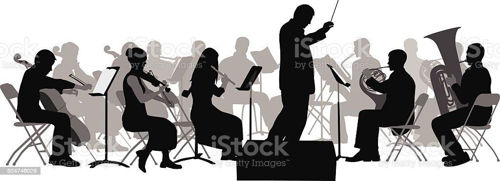 royalty free orchestra clip art vector images illustrations istock rh istockphoto com orchestra clipart free orchestra clip art images