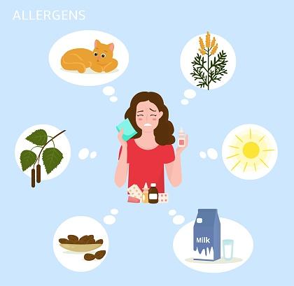 allergens cat and sun