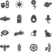 Allergy Icons