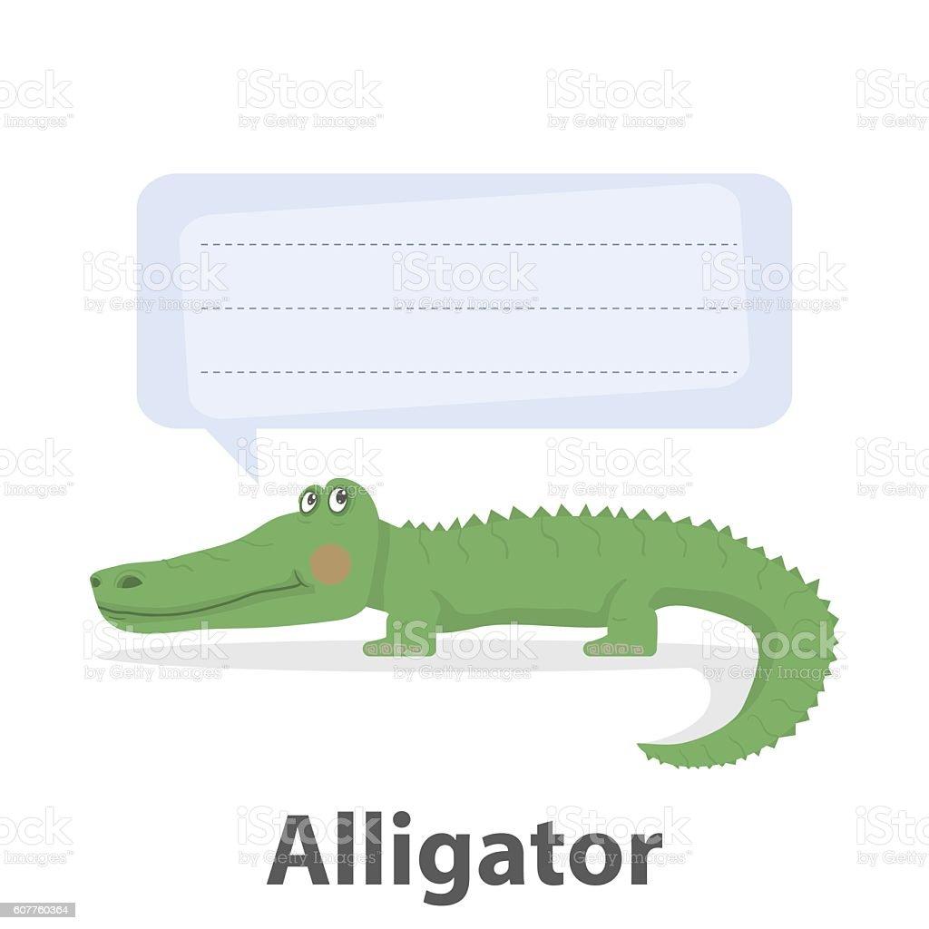 Alligator Vector Illustration Stock Vector Art & More Images of ...
