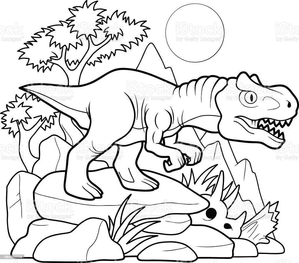 dinosaurier interesse ausmalbilder