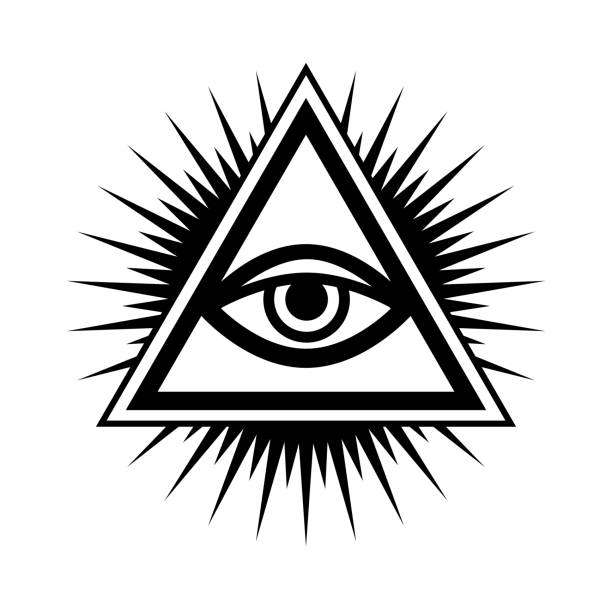 Royalty Free All Seeing Eye Pyramid Clip Art, Vector ...