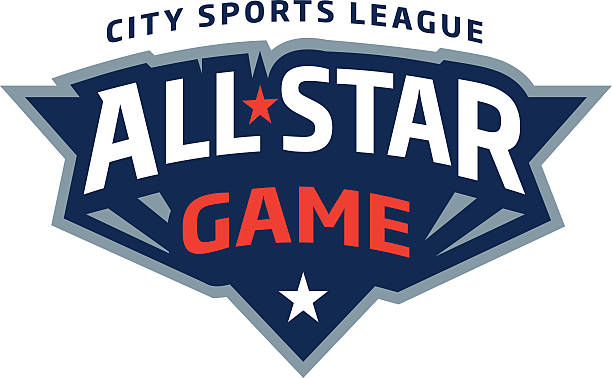 All-Star Game Logo vector art illustration