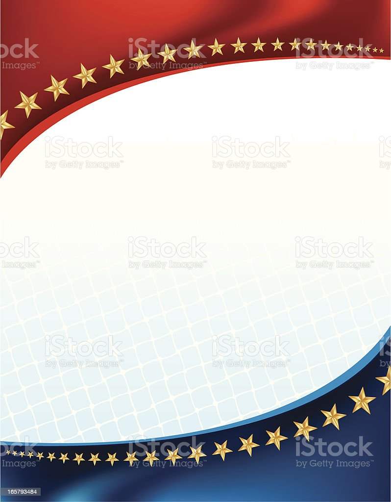 All-Star Sports Net Background royalty-free stock vector art