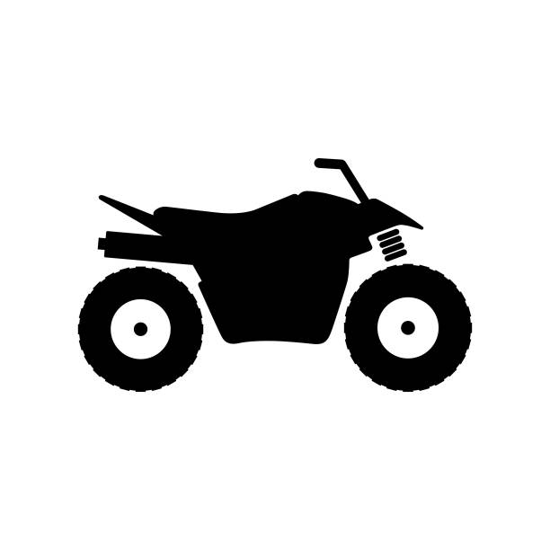 All-terrain vehicle (ATV), quad bike Available in high-resolution and several sizes to fit the needs of your project. quadbike stock illustrations