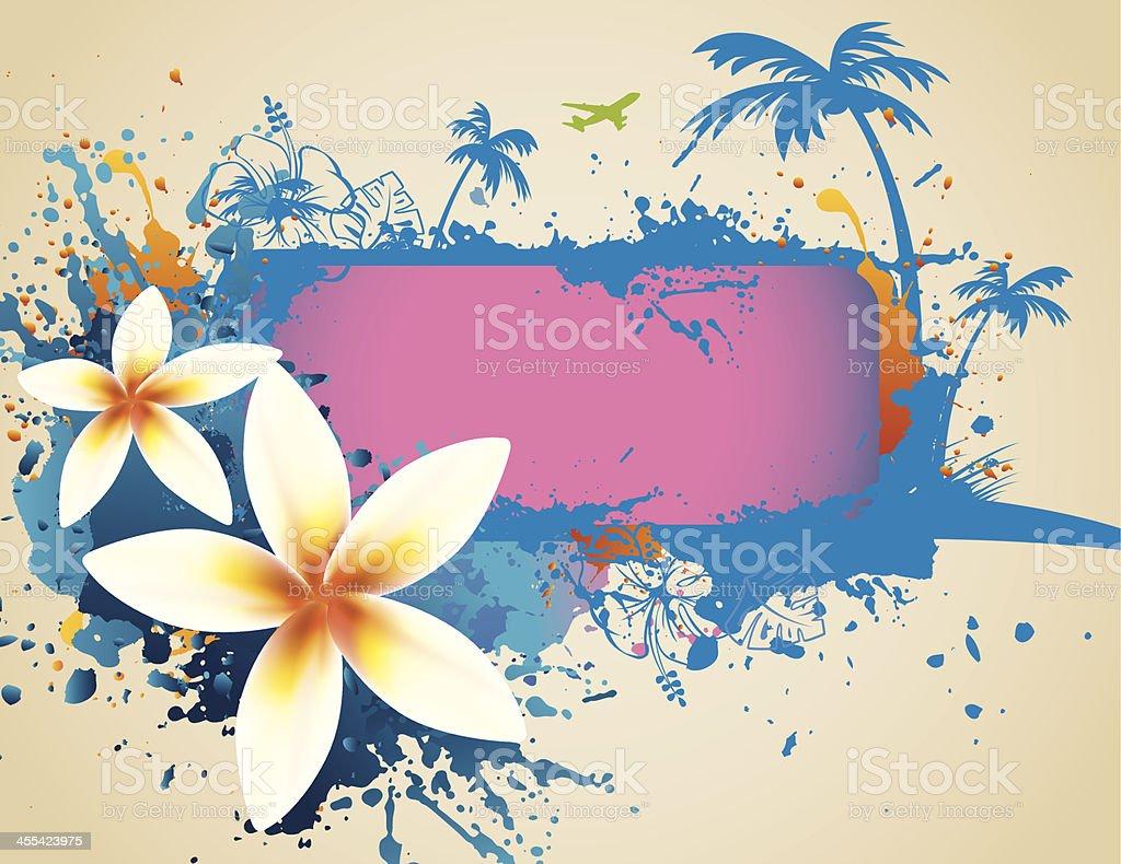Aloha Illustration royalty-free stock vector art