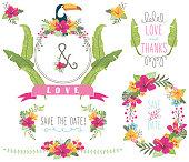 Aloha Wedding Floral Collections