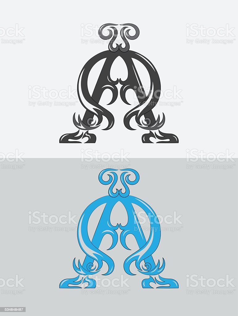 Alpha Omega Christian Icon And Symbol Stock Vector Art More Images