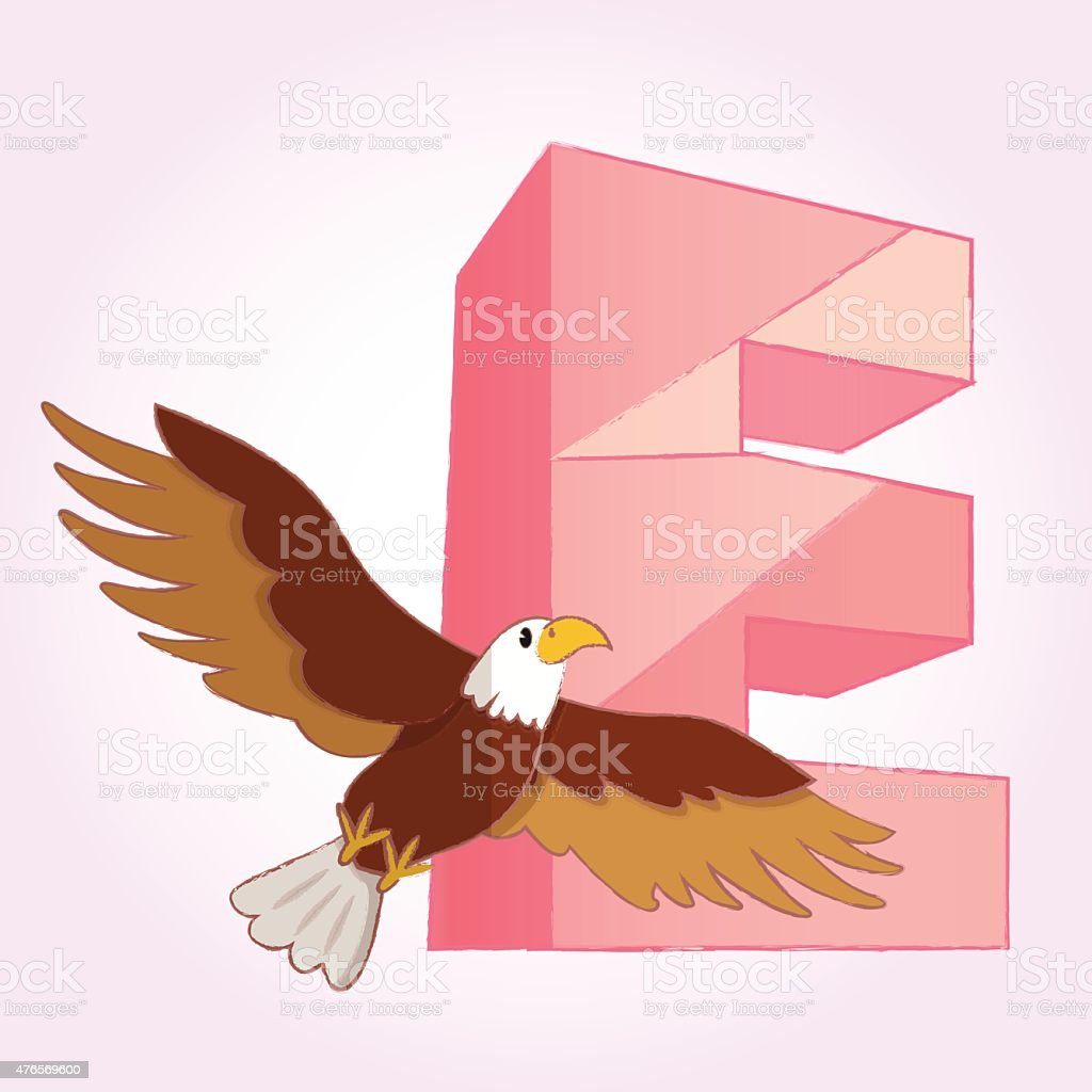 Alphabet And Eagle Icon Great For Any Use Vector Eps10 Stock Bald Diagram Golden Related Keywords Suggestions Royalty Free