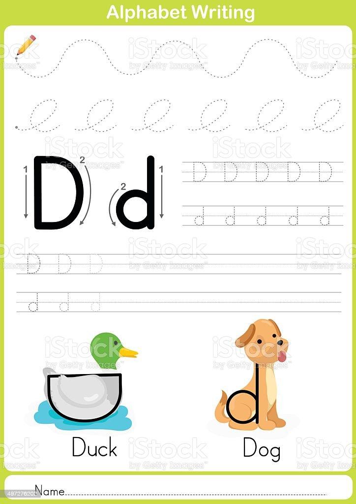 Alphabet Buchstaben Az Durchpausen Arbeitsblatt Übungen Für Kinder ...