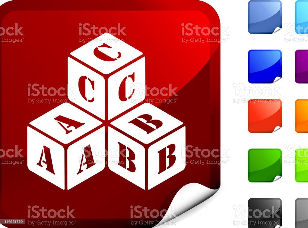 alphabet blocks internet royalty free vector art royalty-free stock vector art