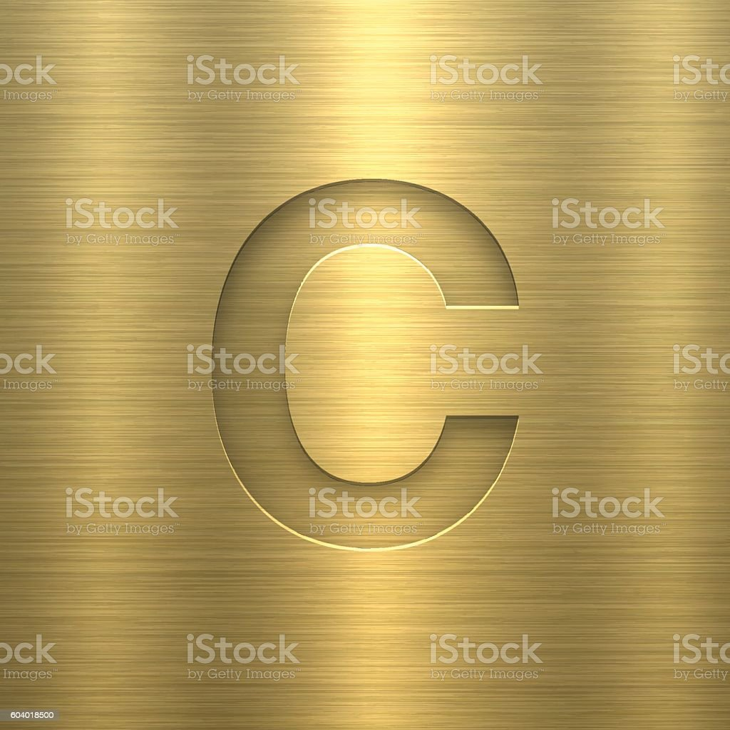 Royalty Free Background Of A Fancy Letter C Clip Art Vector Images