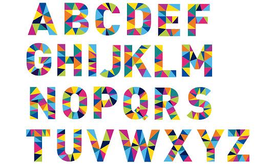 alphabet for logo