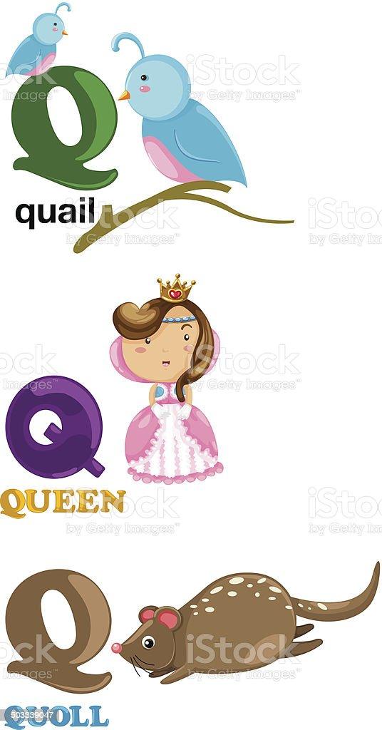 alphabet letter q royalty free alphabet letter q stock vector art more