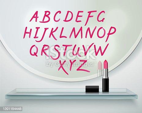 istock alphabet lipstick hand drawn transparent 1201154445