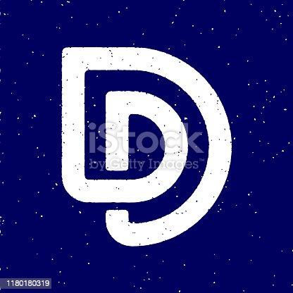 D alphabet Logo.